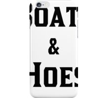 Boats & Hoes   OG Collection iPhone Case/Skin