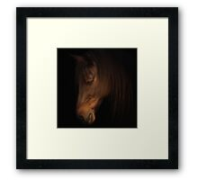 Gentle Framed Print