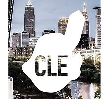 CLE Skyline Chief Wahoo by swags95
