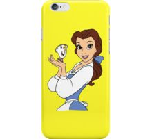 Belle and Chip iPhone Case/Skin