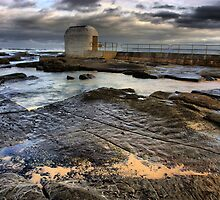 Merewether Pool Pump House by monkeyfoto