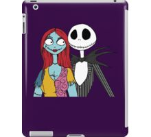 Jack And Sally iPad Case/Skin