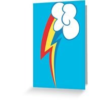 Rainbow Dash's Cutie Mark Greeting Card