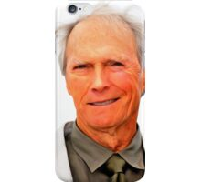 Clint Eastwood 01 iPhone Case/Skin