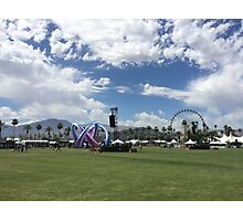 Coachella Photographic Print
