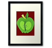 Big Macintosh Cutie Mark's Framed Print