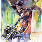 Jazz Miles Davis 9 Blue by Yuriy Shevchuk