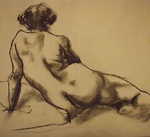 reclining Edwina by Troy Wekwerth
