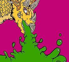 Styracosaurus Vomit by napalmnacho