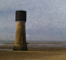 Spurn Point - Watercolour effect by Glen Allen