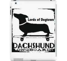 Hot Dog Dacschund Skater iPad Case/Skin