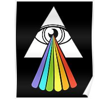 All-Seeing Dark Side of the Moon Poster