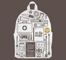 The Last of Us Back Pack Survival Clear T-Shirt