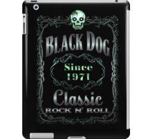BLACK DOG LABEL - REEL STEEL iPad Case/Skin