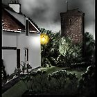 Dysart Historic House and St Serf's Tower: Fife, Scotland [Digital Architecture Art Print] by Grant Wilson