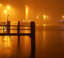 HarbourView at Night by Els Steutel