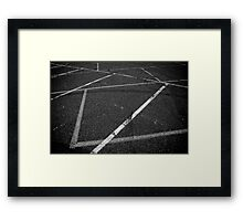 Cryptic messages Framed Print