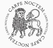 Carpe Noctem Lion by Zehda