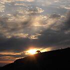 Pre-Dawn Light over Hayne Down by lezvee
