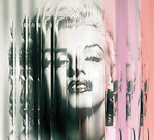 Distorted Monroe by kylebroad