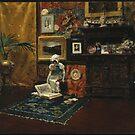 William Merritt Chase - Studio Interior, c. 1882 by Adam Asar