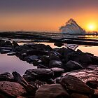 Sunrise Splash by Andrew Dickman