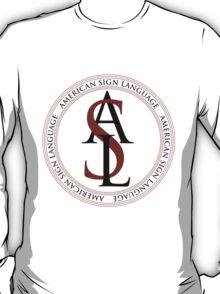 American Sign Language Logo T-Shirt