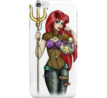 Steampunk Ariel - The Little Mermaid iPhone Case/Skin