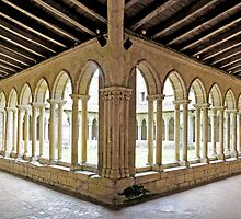 St Emilion Collegiate Church Cloister by Chris Charlesworth