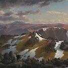 Eugene von Guerard  - Mount Townsend 1863 by Adam Asar