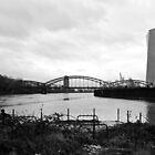 FFM Honsellbrücke by heinrich