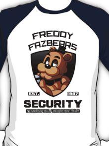 Five Nights At Freddy's Security Logo (ORIGINAL) T-Shirt