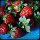 Fresh Strawberries by ELBfoto