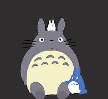 Totoro and Friends by Alisha Mumby