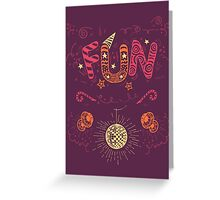 Fun Hand-Lettering Greeting Card