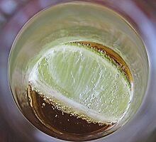 Inside my beerglass by Susan van Zyl