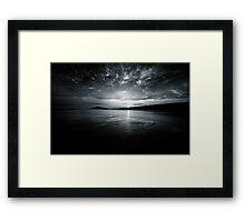 Bigbury bluish Framed Print