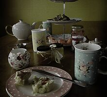 afternoon tea by Peace Mitchell
