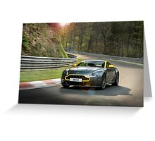 Aston Martin V8 Vantage N430 Greeting Card