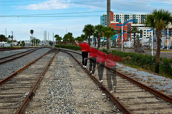 Walking the Line by MKWhite
