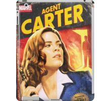 Agent Carter Short Poster iPad Case/Skin