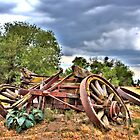 broken wagon by jnisbet