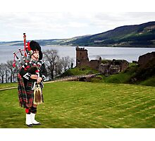 The Lone Piper Photographic Print