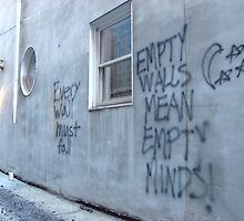 Graffiti or Philosophy by Vince Thompson