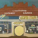 Wightman's Building by Joan Wild