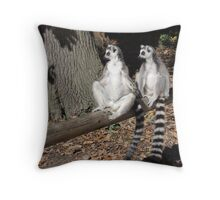 Who's Driving This Log? Throw Pillow