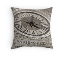 Paris-Orleans Throw Pillow