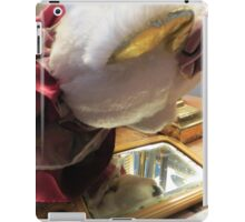 Lucy Discovers A Hand Mirror iPad Case/Skin
