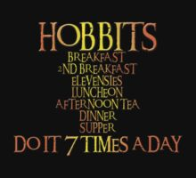 Hobbits do it 7 times a day by MacTots