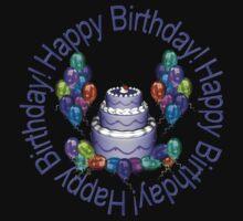 Happy Birthday by Lisa  Weber